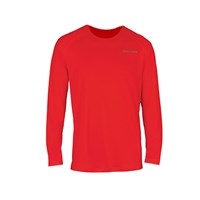 Picture of Bauer Training Long Sleeve Tee Shirt 37.5 Red Senior