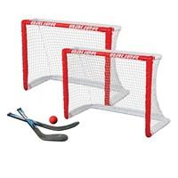 "Picture of Bauer Knee Hockey Goal 2er Set 30.5"" Tore, 2 Ministicks & 1 Foam Ball"