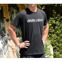 Picture of Bauer Core Short Sleeve Tee Shirt Black Senior