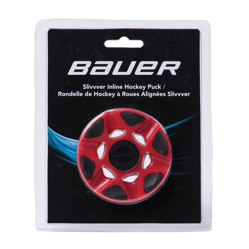 Picture of Bauer RH Slivvver Puck red - each