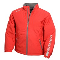 Picture of Bauer Winter Jacket Red Youth