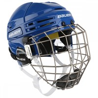 Picture of Bauer Re-AKT 75 Helmet Combo - blue