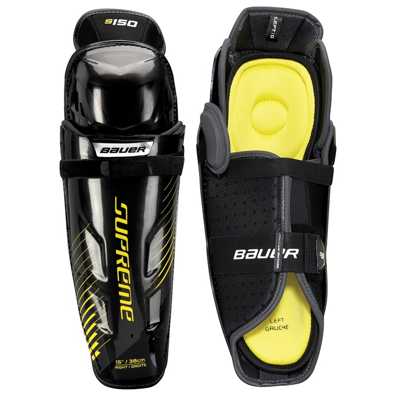 Picture of Bauer Supreme S150 Shin Guards Senior
