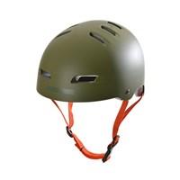 Picture of Kryptonics Step up Helmet - Olive Green/Grey