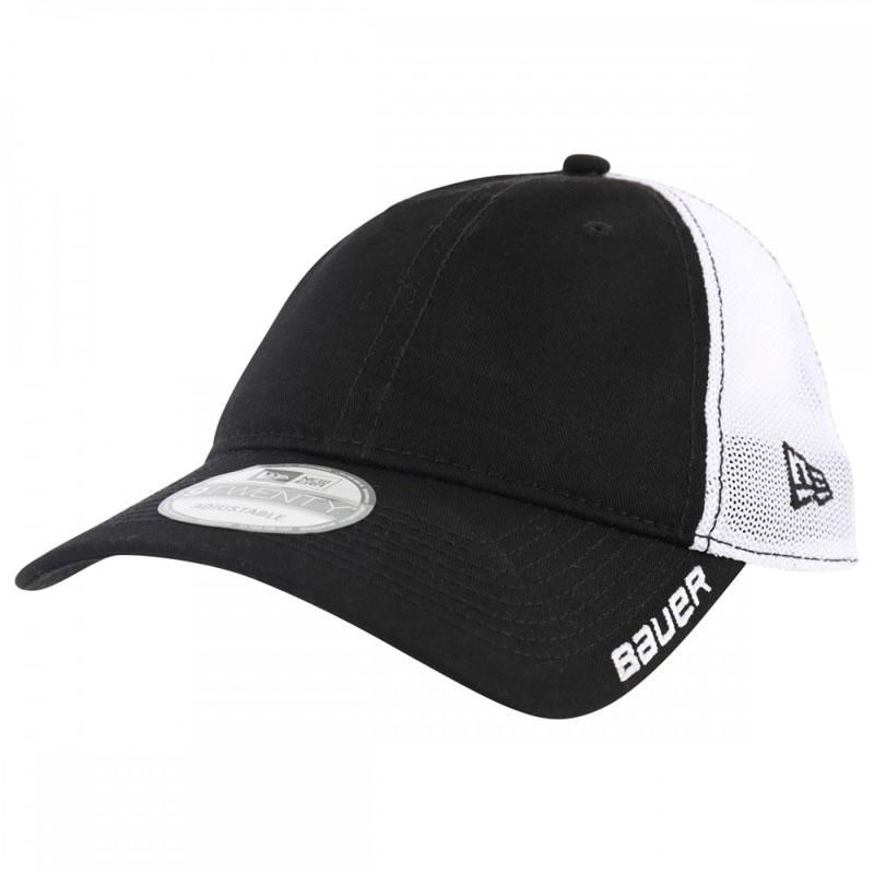 Picture of Bauer New Era 9Twenty Adjustable Meshback Black Cap Senior
