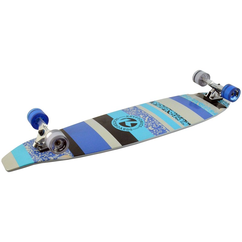 Picture of Kryptonics Blocktail Longboard Gritty Stripes  - 44""