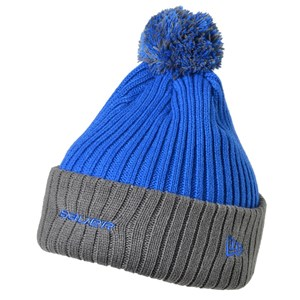 Picture of Bauer New Era Edge Pom Knit Beanie Royal Blue Senior