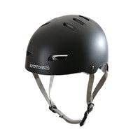 Picture of Kryptonics Step up Helmet - Matt Black/Grey