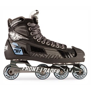 Picture of Mission Inhaler DSG:1 Inline Hockey Goalie Skates Senior