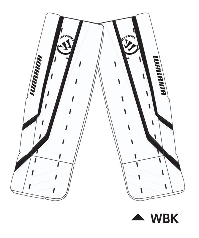 Picture of Warrior Ritual G2 Goalie Leg Pads Intermediate