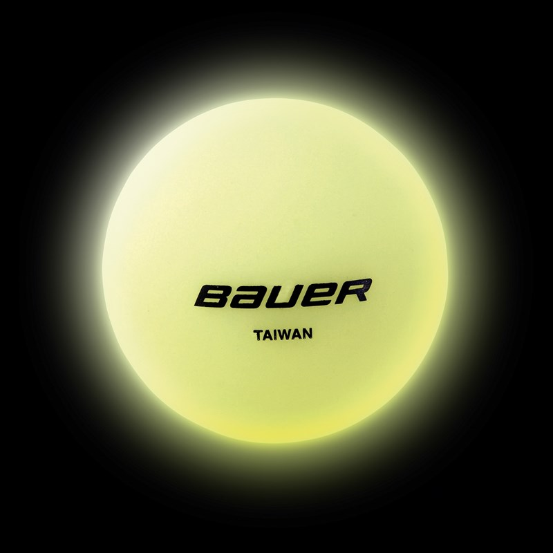 Picture of Bauer Hockey Ball Glow in the dark - Stk.
