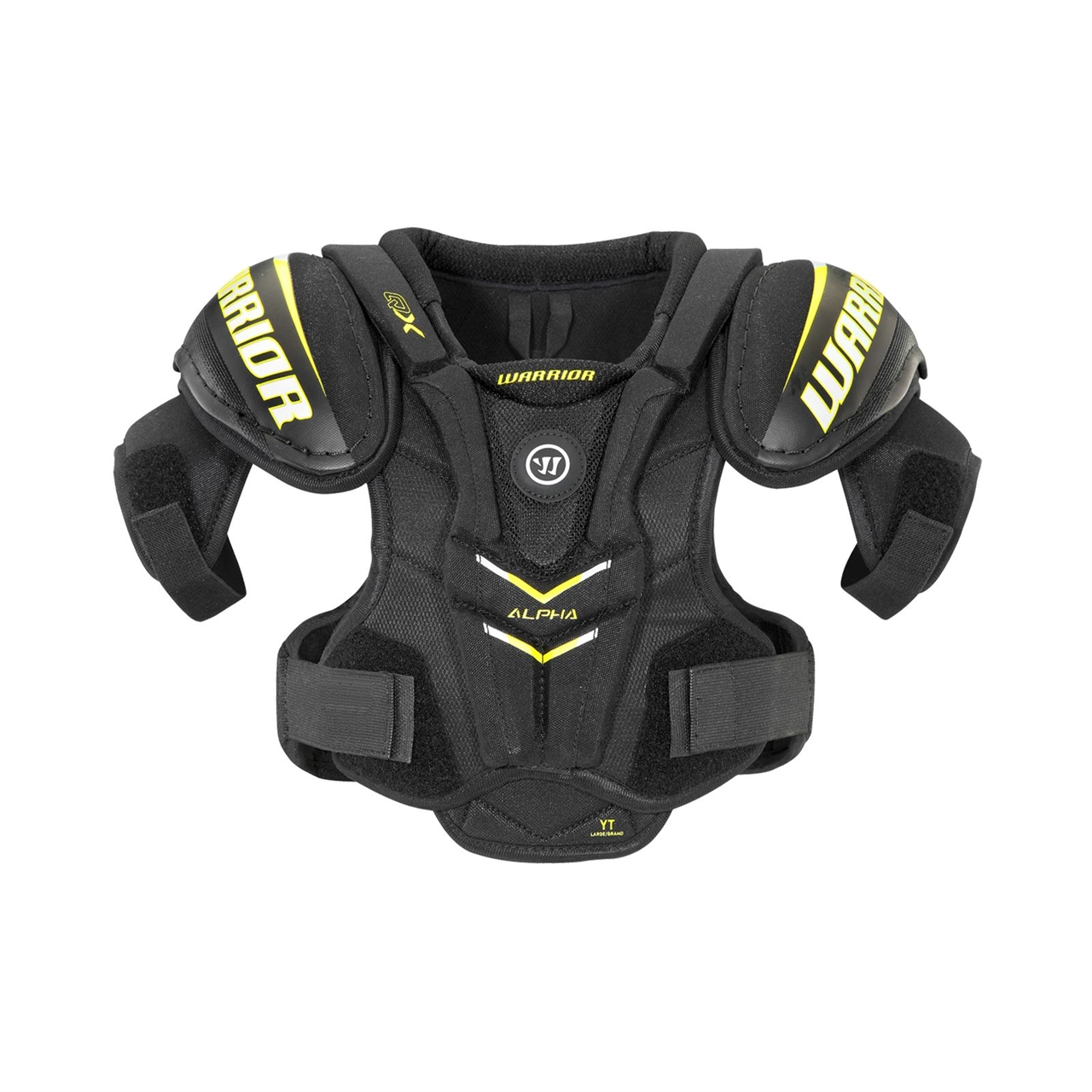 Picture of Warrior Alpha QX Shoulder Pads Youth