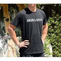 Bild von Bauer Core Kurzarm T-Shirt Schwarz Senior