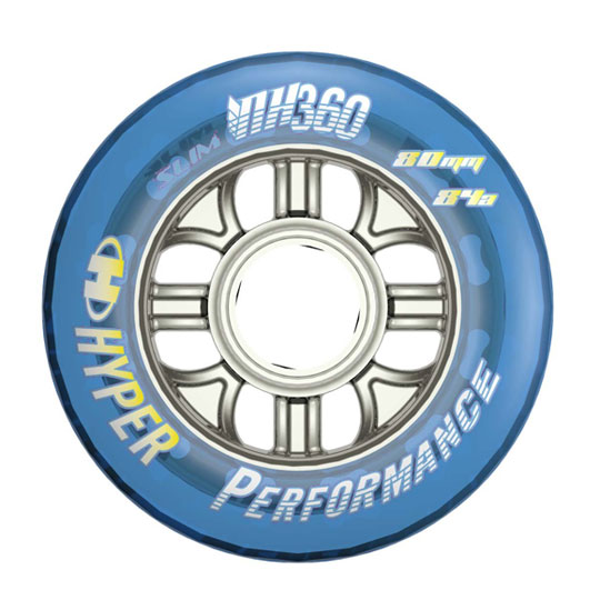 Picture of Hyper NX-360 80/84A Inline Hockey Wheel - 4 Pack