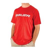 Bild von Bauer Core Kurzarm T-Shirt Rot Senior