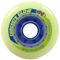 Picture of Hyper Inline Wheel Concrete+G Glow in the dark - 84A - 4er Set