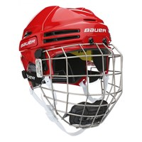 Picture of Bauer Re-AKT 75 Helmet Combo - red