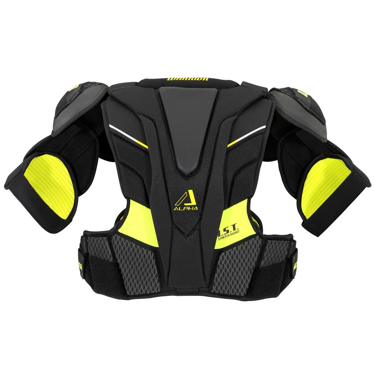 Picture of Warrior Alpha QX Shoulder Pads Senior