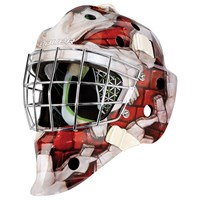 Picture of Bauer NME 4 Goalie Mask Wall Red Senior