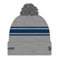 Picture of Bauer New Era Striped Pom Pom - grey/navy