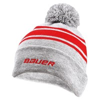 Picture of Bauer New Era Striped Pom Pom - grey/red